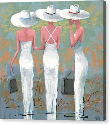 Trio Canvas Print by Thalia Kahl