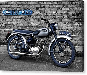 Triumph Tiger Cub Canvas Print by Mark Rogan