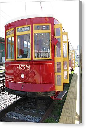 Trolley 458 Canvas Print by Steven Parker