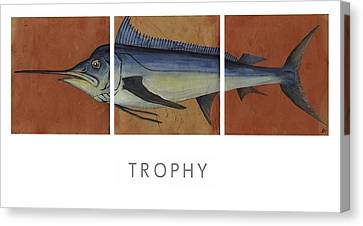 Trophy Canvas Print by Andrew Drozdowicz