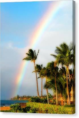 Tropical Dreamin' Canvas Print by Lynn Bauer