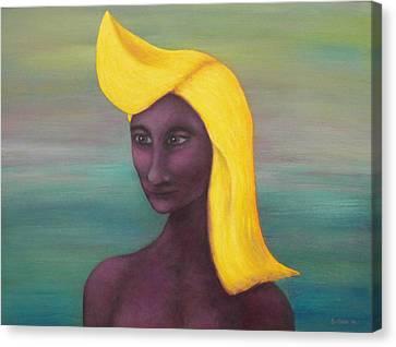 Tropical Mona Canvas Print by Douglas Case