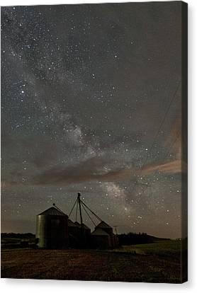 Troy Milky Way Canvas Print by Latah Trail Foundation
