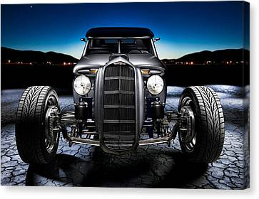 Millers Chop Shop 1964 Truckster Frontend Canvas Print by Yo Pedro