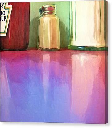 Truckstop Canvas Print by Dominic Piperata