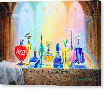 True Beauty Canvas Print by Graham Braddock