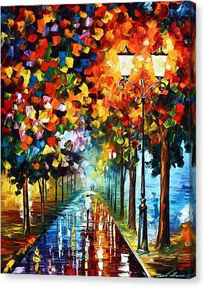 True Colors Canvas Print by Leonid Afremov