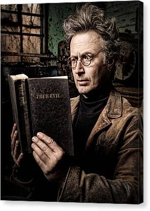 True Evil - Science Fiction - Horror Canvas Print by Gary Heller