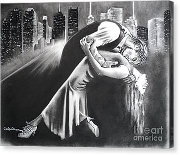 True Romance Canvas Print by Carla Carson