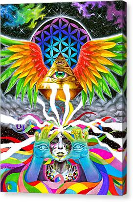 Truth Canvas Print by Callie Fink