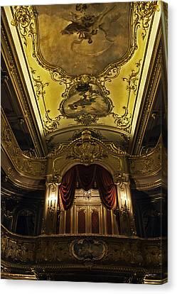 Tsar's Box 1 - Mariinsky Theater - St. Petersburg - Russia Canvas Print by Madeline Ellis