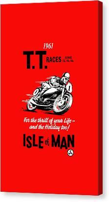 Tt Races Phone Case Canvas Print by Mark Rogan