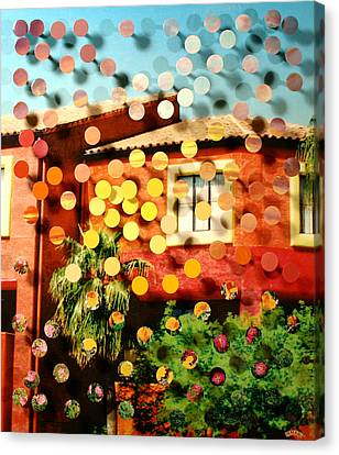 Tucsoncenter Ss2blue Canvas Print by Irmari Nacht