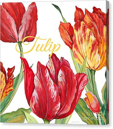 Tulip-jp2585 Canvas Print by Jean Plout