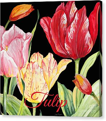 Tulip-jp2601 Canvas Print by Jean Plout