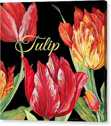 Tulip-jp2602 Canvas Print by Jean Plout