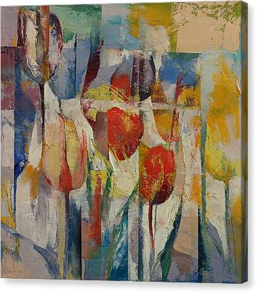 Tulips Canvas Print by Michael Creese