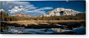 Tuolumne Meadows Canvas Print by Cat Connor