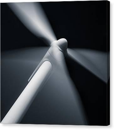 Wind Turbine Canvas Print by Dave Bowman