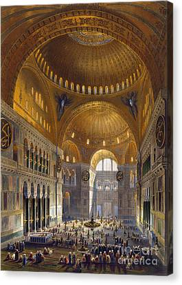 Turkey: Hagia Sopia, 1852 Canvas Print by Granger