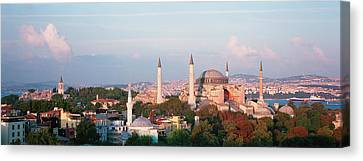 Turkey, Istanbul, Hagia Sofia Canvas Print by Panoramic Images