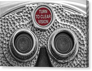 Turn To Clear Vision Canvas Print by Juli Scalzi
