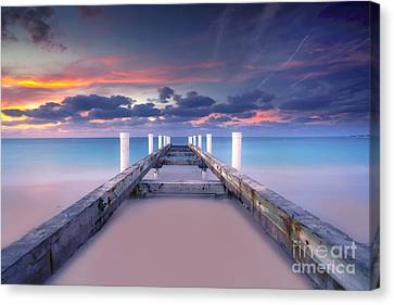 Turquoise Paradise Canvas Print by Marco Crupi