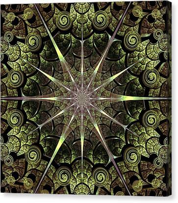 Turtle Gates Canvas Print by Anastasiya Malakhova