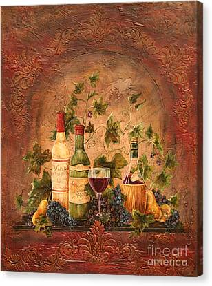 Tusacn Treasures Canvas Print by Jean Plout