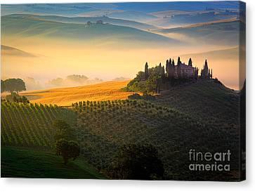 Tuscan Dawn Canvas Print by Inge Johnsson
