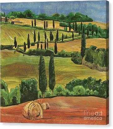 Tuscan Dream 1 Canvas Print by Debbie DeWitt