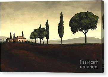 Tuscan Style  Canvas Print by Michael Swanson