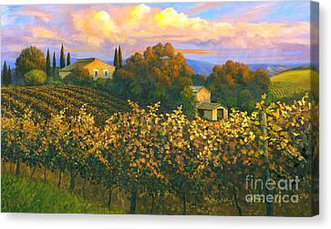 Tuscan Sunset 36 X 60 - Sold Canvas Print by Michael Swanson