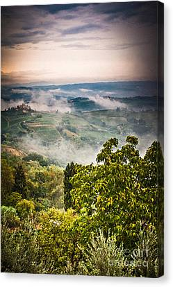Tuscan View Canvas Print by Silvia Ganora