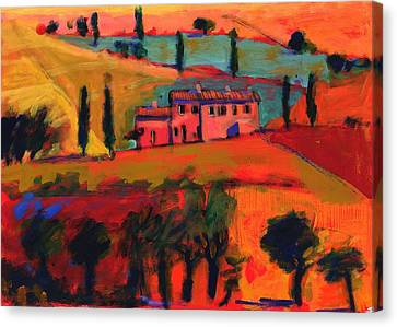 Tuscany Canvas Print by Paul Powis