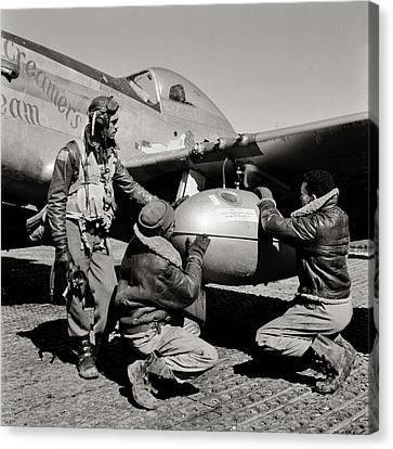 Tuskegee Preflight Canvas Print by Benjamin Yeager