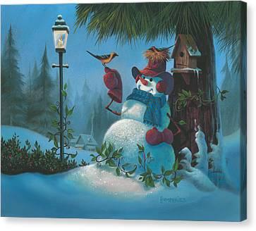 Tweet Dreams Canvas Print by Michael Humphries