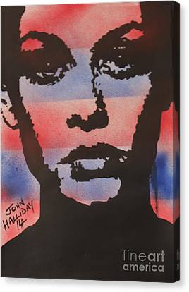 Twiggy Canvas Print by John Halliday