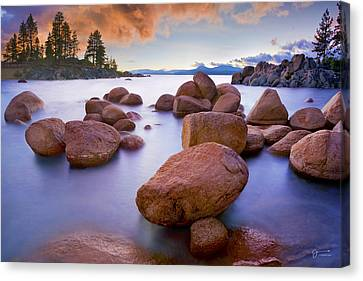 Twilight Cove - Craigbill.com - Open Edition Canvas Print by Craig Bill