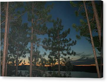 Twilight Canvas Print by Kathy Peltomaa Lewis