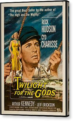 Twilight Of The Gods 1958 Canvas Print by Mountain Dreams