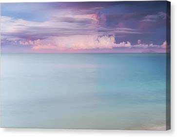 Twilight Over The Atlantic Canvas Print by Photography  By Sai