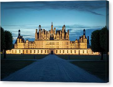 Twilight Over The Massive, 440 Room Canvas Print by Brian Jannsen
