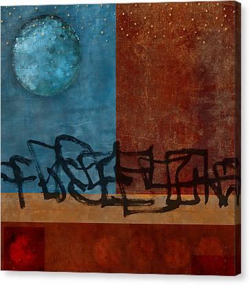 Twilight Walk Canvas Print by Carol Leigh