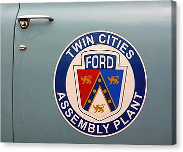 Twin Cities Assembly Plant Ford Canvas Print by Amanda Stadther