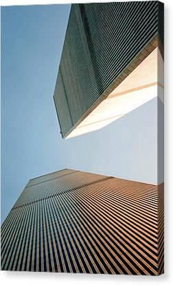 Twin Towers  Canvas Print by Patricia Januszkiewicz