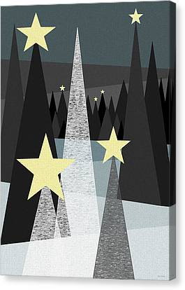 Twinkle Canvas Print by Val Arie