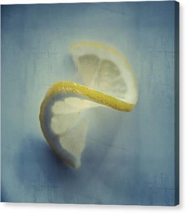 Twisted Lemon Canvas Print by Ari Salmela