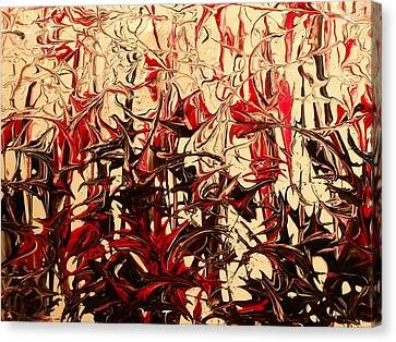 Twisted Canvas Print by Lisa Williams