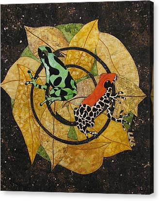 Two Little Beauties Canvas Print by Lynda K Boardman
